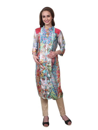 Mee Mee Maternity Kurti with Feeding Zipper