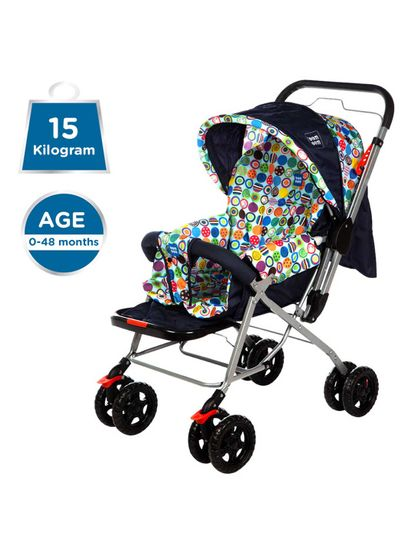 Mee Mee Baby Pram with Adjustable Seating Positions and Reversible Handle