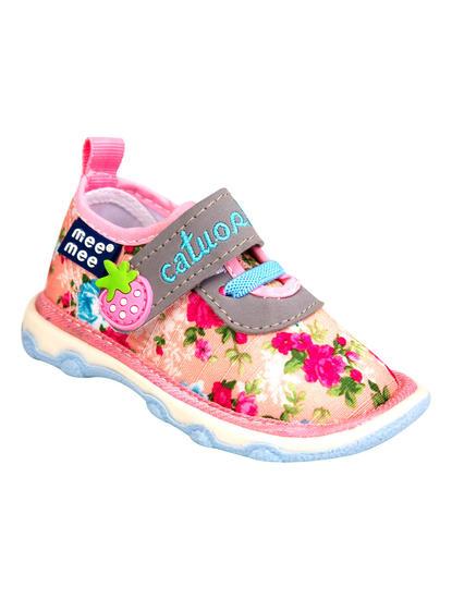 Mee Mee First Walk Baby Shoes with Chu Chu Sound (Dark Pink)