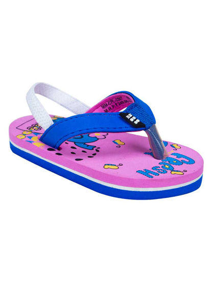 Mee Mee Unisex Flip-Flops and House Slippers_x000D_ (Blue - Pink)