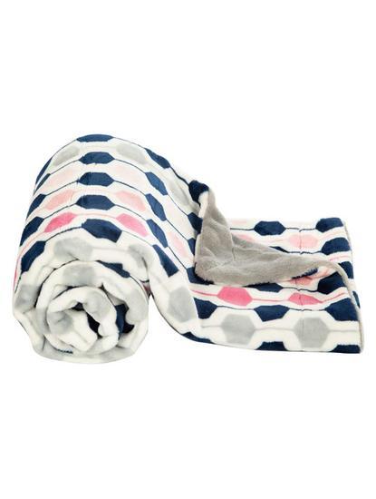 Mee Mee Multipurpose Soft Baby Blanket, Pink