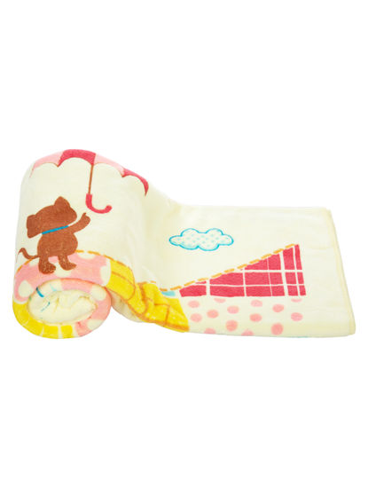 Mee Mee Soft Absorbent Baby Towel (Yellow)