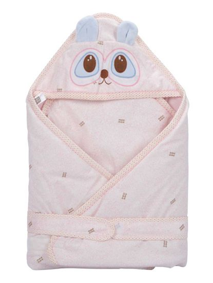 Mee Mee Baby 3-in1 Wrapper with Hood – Pink