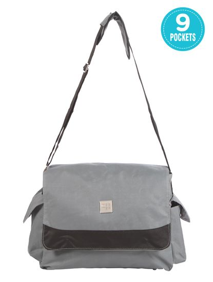 Mee Mee Multipurpose Diaper Bag with Bottle Warmer and Changing Mat