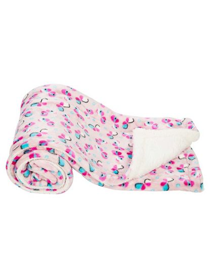 Mee Mee Soft Double Layer Baby Blanket (Pink)