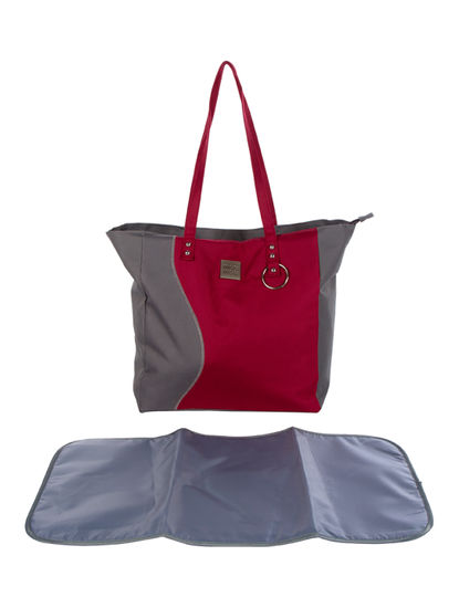 Mee Mee Multipurpose Diaper Bag (Red)