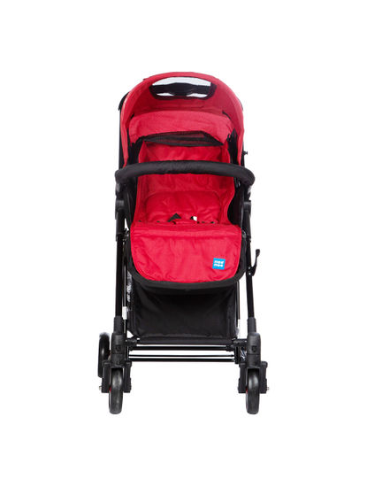 Mee Mee Premium Baby Pram with Rocker Function, Rotating Wheels & Adjustable Seat