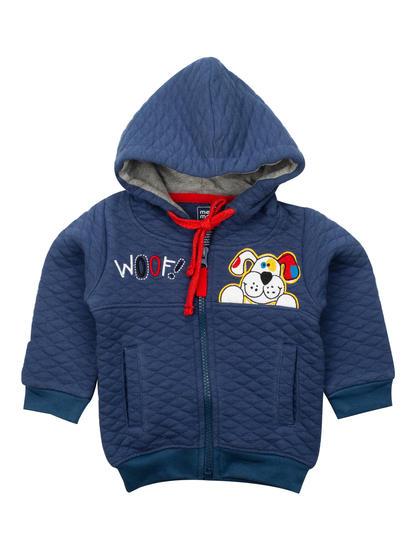 Mee Mee Full Sleeve Boys Jacket (Blue)
