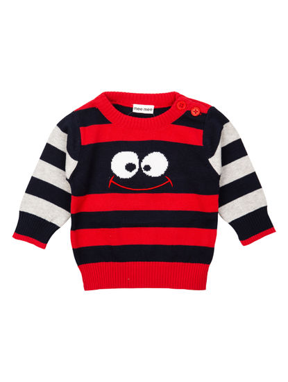 Mee Mee Full Sleeve Boys Sweater (Navy)