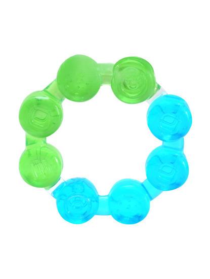 Mee Mee Multi-Textured Water Filled Teether (Green/Blue)