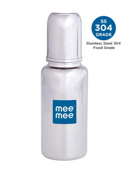 Mee Mee Premium Steel Feeding Bottle (240ml)