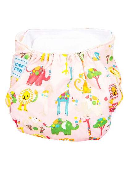Mee Mee Reusable Baby Cloth Diaper with Adjustable Snap Buttons