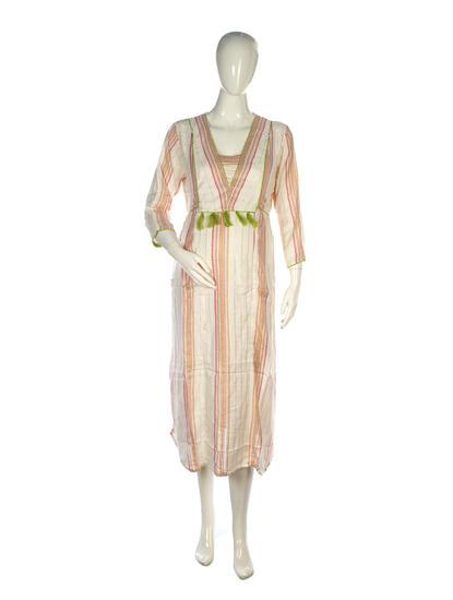 Mee Mee Stylish Maternity Dress With Nursing Option ? White