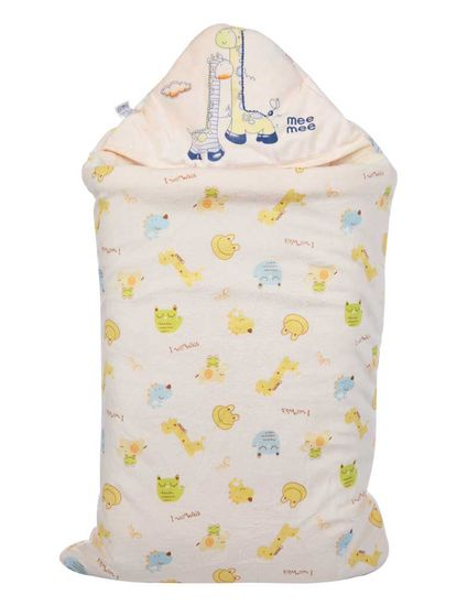 Mee Mee Baby 3-in-1 Multi Usage Bed Cum Sleeping Bag Carry Nest – (Yellow)