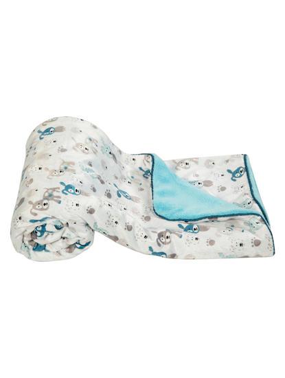 Mee Mee Multipurpose Soft Baby Blanket, Blue