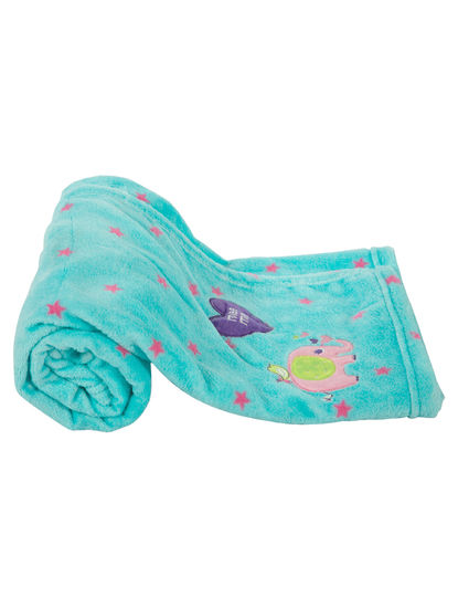 Mee Mee Multipurpose Soft Baby Blanket, Light Blue