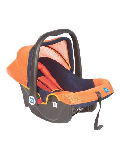 Mee Mee Baby Car Seat cum Carry Cot with Thick Cushioned Seat (Green)