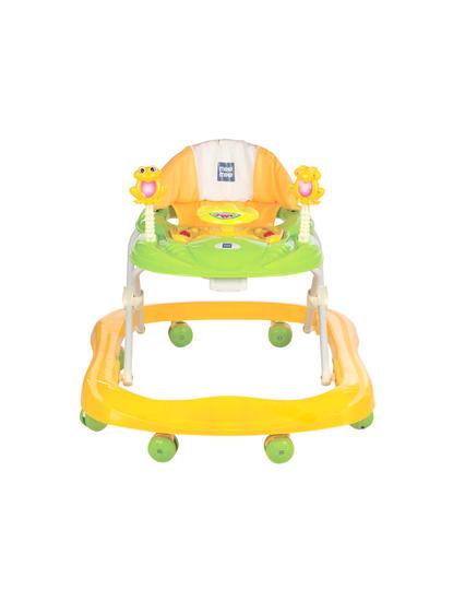 Mee Mee Simple Steps Baby Walker (Yellow)