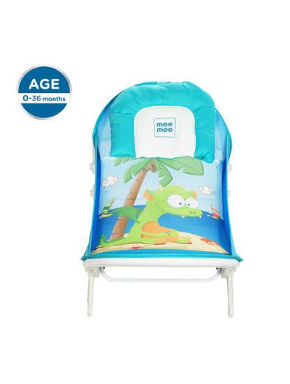 Mee Mee Advanced Anti-Skid Baby Bather (Blue)