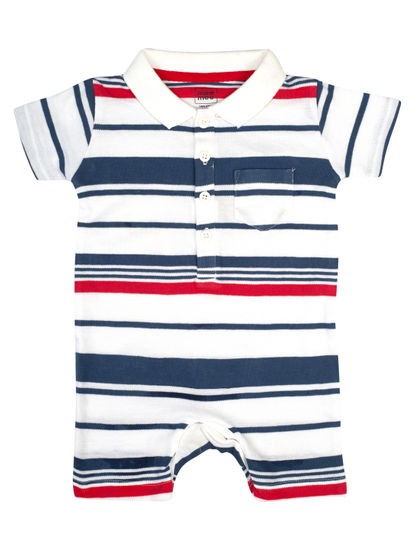 Mee Mee Kids Boys Short Sleeve Half Romper
