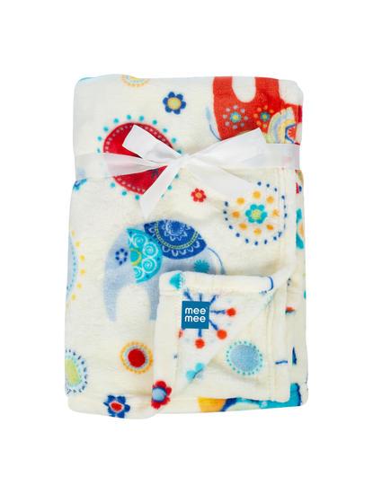 Mee Mee Soft Baby Blanket (Snuggly Comfort) (Red)