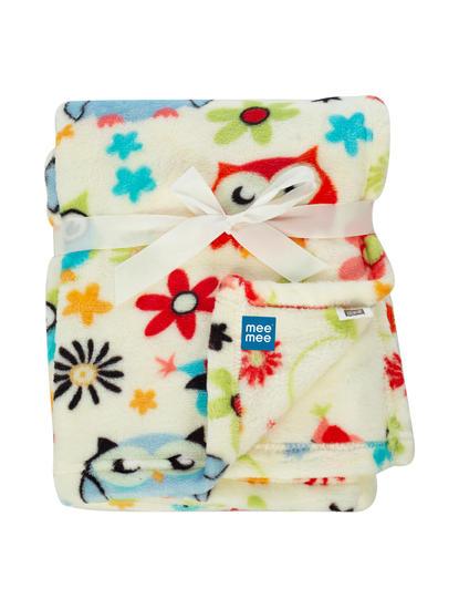 Mee Mee Soft Baby Blanket (Snuggly Comfort) (Orange)