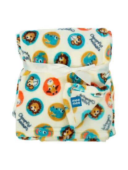 Mee Mee Soft Baby Blanket (Snuggly Comfort) (Green)