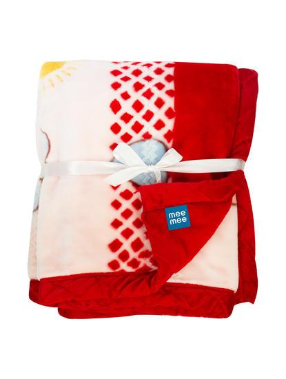 Red Printed Blanket
