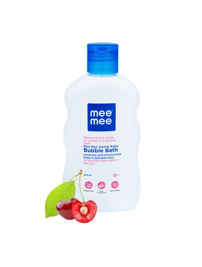 Mee Mee Gentle Baby Bubble Bath with Fruit Extracts, 200ml