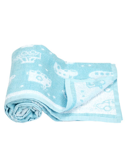 Mee Mee Soft Absorbent Organic Baby Towel (White)