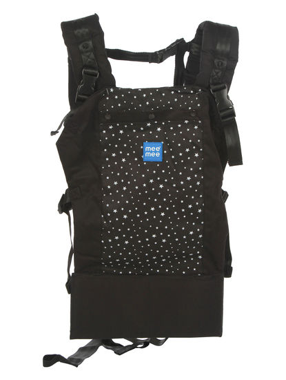 Mee Mee Cuddle up Baby Carrier with Padded Waist belt (Black)