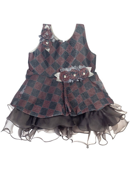 Mee Mee Girls Sleeveless Party Frock