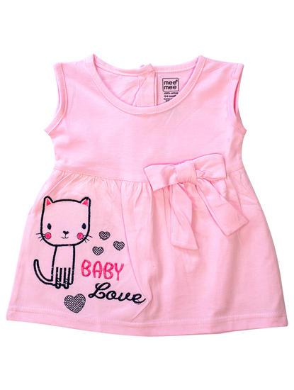 Mee Mee Kids Pink Sleeveless Frock