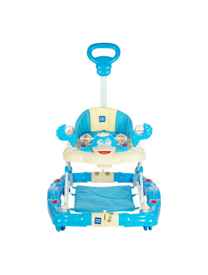 Mee Mee Baby Walker with Rocker Function 2-in-1 (Blue)