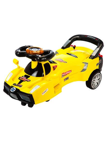 Mee Mee Baby Fun Racing Twister Scooter (Yellow)