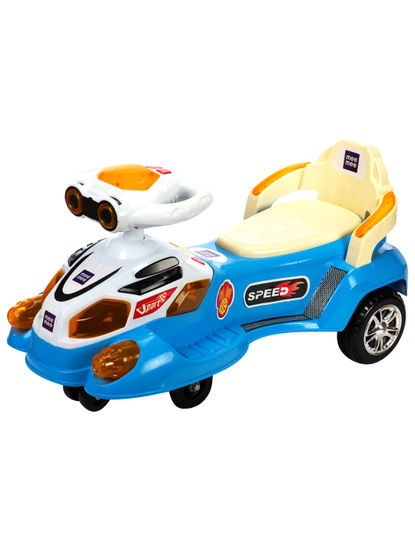Mee Mee Baby Fun Racing Twister Scooter (Blue)
