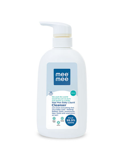 Mee Mee Anti-Bacterial Baby Liquid Cleanser (300ml)