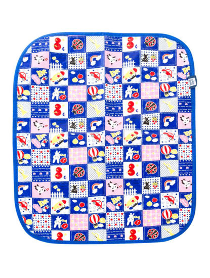 Mee Mee Reversible Multipurpose Plastic Baby Mat – (Dark Blue)