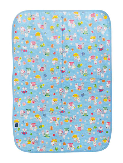 Mee Mee Reversible Multipurpose Plastic Baby Mat – (Light Blue)