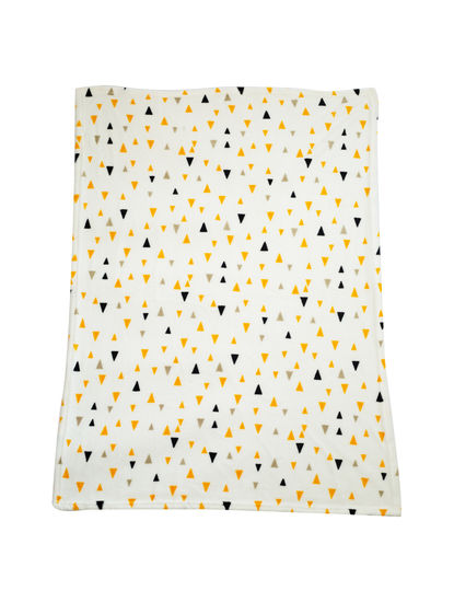 Mee Mee Soft Baby Blanket with Hood, White