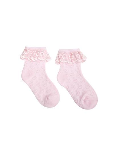 Mee Mee Stylish Cozy Baby Socks (Pink)