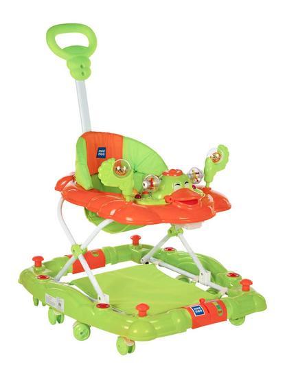 Mee Mee Baby Walker with Rocker Function 2-in-1 (Green)