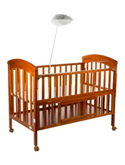 Mee Mee Wooden Baby Cot with Cradle