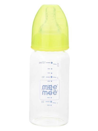 Mee Mee Premium Glass Feeding Bottle