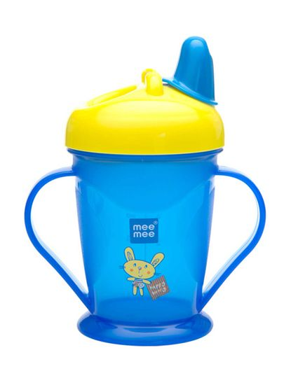 Mee Mee Easy Grip Sipper Cup with Twin Handle (Blue)