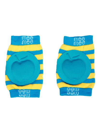 Mee Mee Soft Baby Knee/Elbow Pads (Blue)