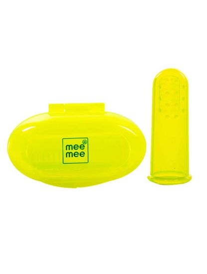Mee Mee Unique Finger Brush (Pink)