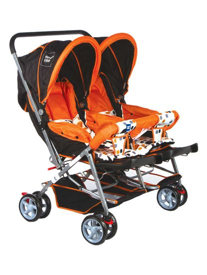 Mee Mee Comfortable Twin Baby Pram with 3 seating position