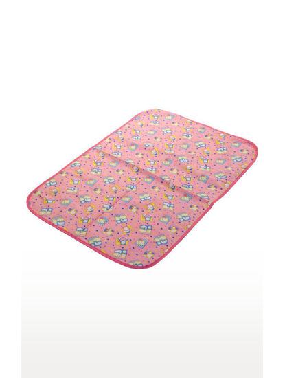 Mee Mee Reversible Multipurpose Plastic Baby Mat – (Pink)