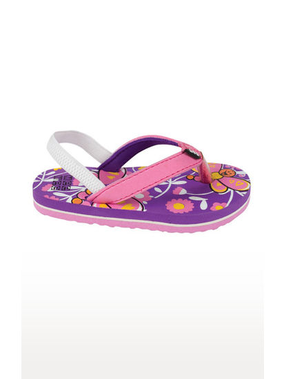 Mee Mee Unisex Flip-Flops and House Slippers (Purple)